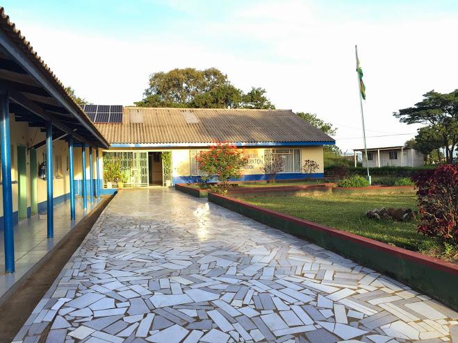 Main Administrative Block of St. Albert's.