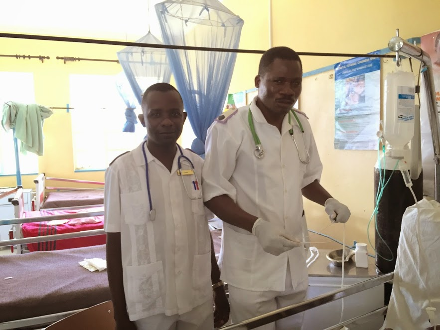 Morning rounds in the Female Ward