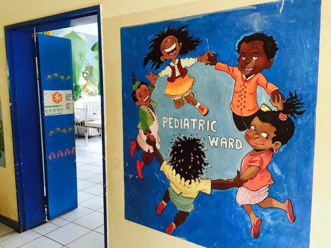Entrance to the Pediatric Ward