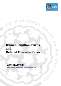 WHO-ICO_Report_HPV_ZW2016 1